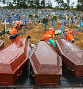 Brasil: en las últimas 24 horas se registraron más de 17 mil casos de Covid-19