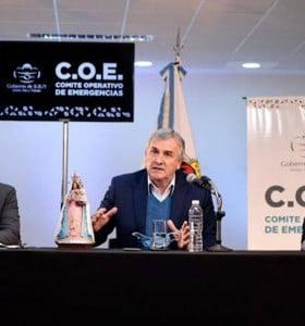 Jujuy: con el sistema de salud casi colapsado, Morales llama a automedicarse