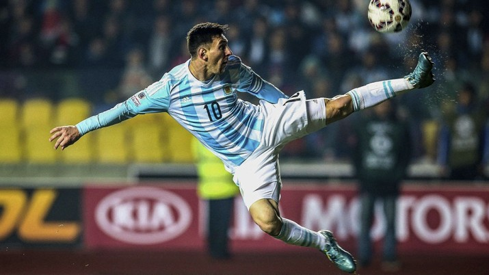 La segunda reversa de Messi