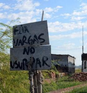 Familias que ocupan terrenos demandan respuestas del municipio
