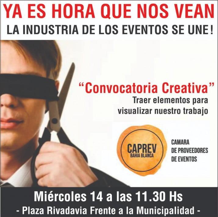 """Convocatoria creativa del sector eventos"""