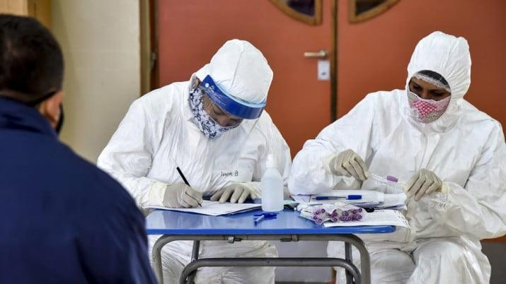 El promedio diario de coronavirus en la última semana fue de 9.642 infectados