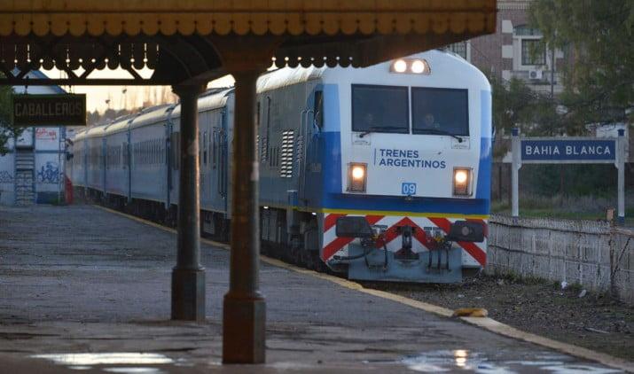 Vuelve el tren de pasajeros a Bahía Blanca