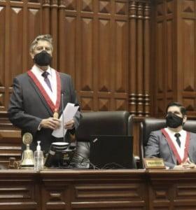 El centrista Sagasti es el cuarto presidente de Perú en menos de tres años