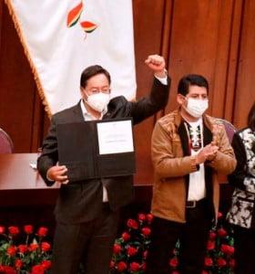 A un año del golpe de estado, Arce asume la Presidencia de Bolivia