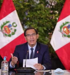 Congreso peruano destituyó al presidente Vizcarra en medio de acusaciones de corrupción