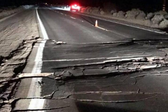 Un sismo de 6.4 de magnitud en San Juan, dejo heridos de gravedad y numerosos destrozos