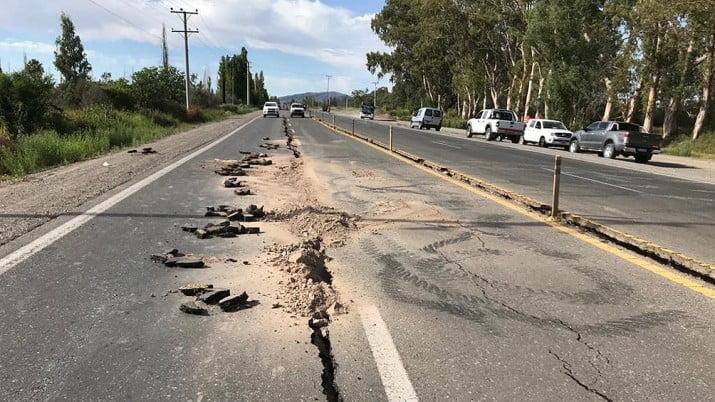Fueron más de 50 las réplicas del sismo en San Juan