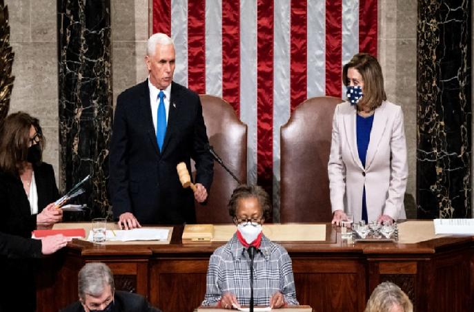 El Congreso de Estados Unidos ratificó la victoria de Joe Biden