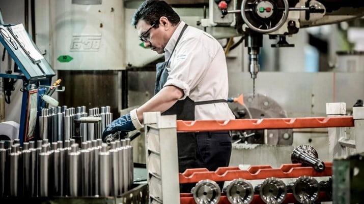 La industria se recupera: el uso de la capacidad instalada es el mayor en 2 años