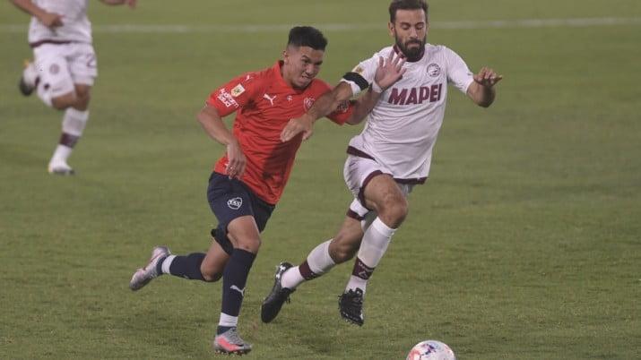 Independiente, en el debut de Falcioni, no pudo con Lanús
