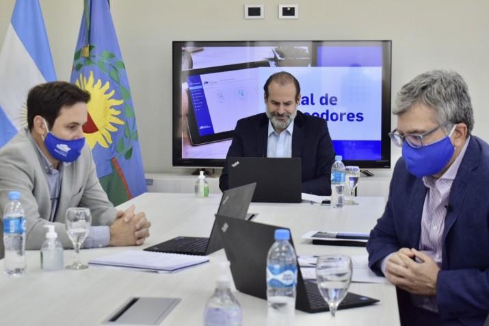 """El puerto presentó una """"solución moderna que permite ganar en transparencia"""""""