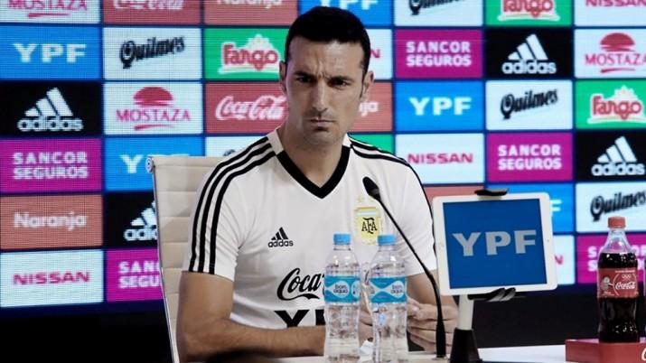Scaloni presentó la lista previa de 50 convocados para la Copa América