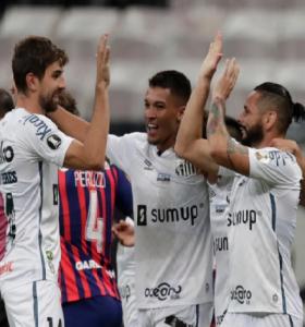 San Lorenzo empató con Santos y se despidió de la Copa Libertadores