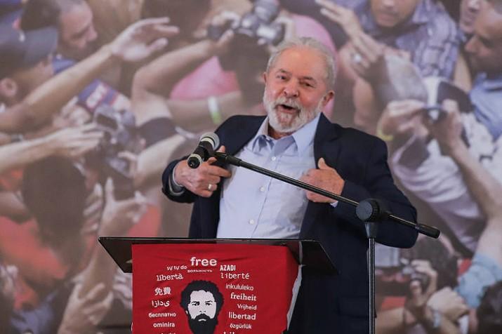 """Lula: """"Si es necesario seré candidato en 2022"""""""