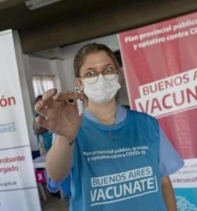 La provincia de Buenos Aires anunció 225 mil nuevos turnos de vacunación