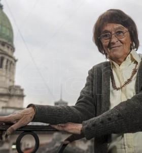Los restos de Alcira Argumedo fueron velados en el Congreso