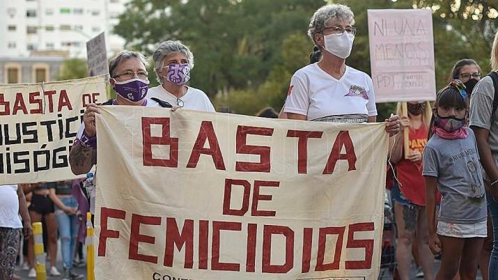 En 2020 hubo 251 víctimas de femicidios en el país