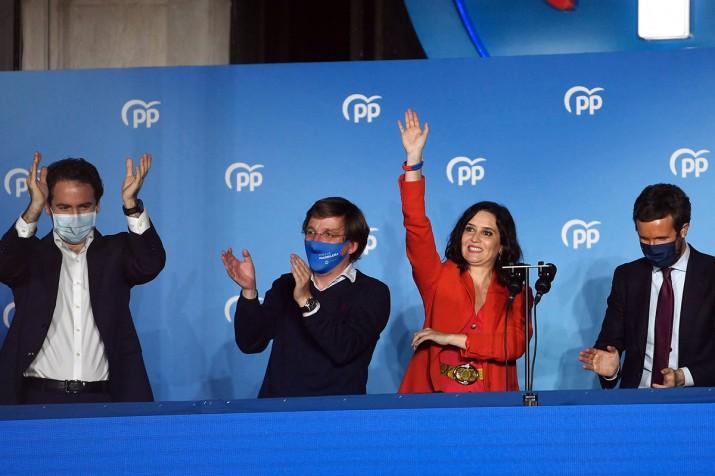 Madrid: la derecha arrasó en las elecciones e Iglesias anunció su retiro de la política