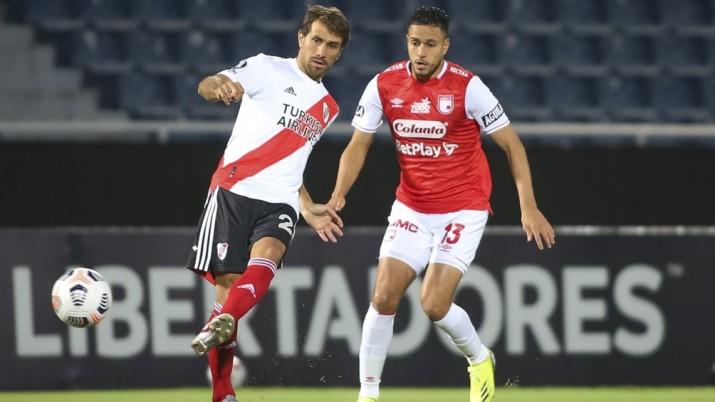 River empató con Independiente Santa Fe de Colombia en Paraguay
