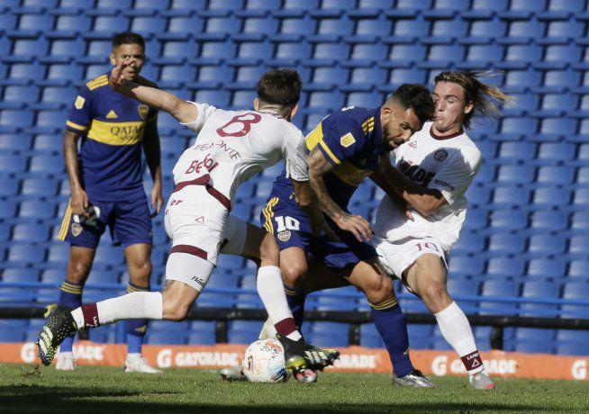Boca derrotó a Lanús y clasificó a los cuartos de final de la Copa de la Liga