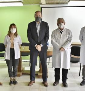El Consorcio del Puerto local donó $11.000.000 al Hospital Penna