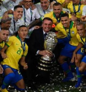 Brasil será el organizador de la Copa América