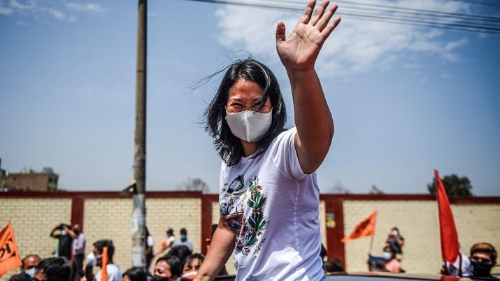 Conteo rápido confirma ventaja para Fujimori, pero resta contar el voto rural