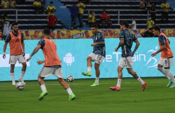 La lista de 28 de Argentina para la Copa América 2021