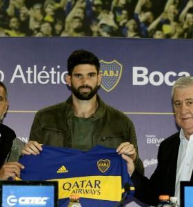 """Nicolás Orsini fue presentado en Boca: """"Vengo a potenciar mi carrera"""""""
