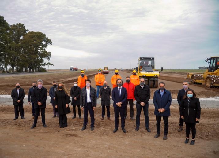 """Cada inversión en infraestructura """"tiene el mismo sentido: reconstruir la Argentina"""""""